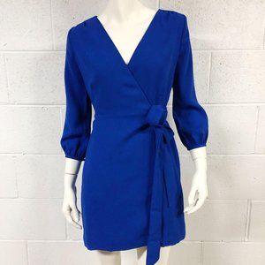 Womens NWT J. Crew Petite Wrap Dress in 365 Crepe